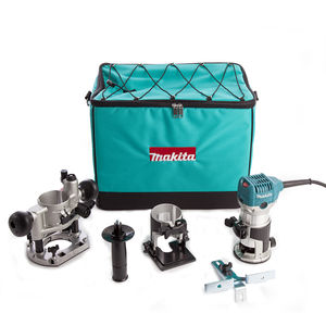Makita RT0700CX2 Router / Laminate Trimmer with Trimmer, Tilt and Plunge Bases