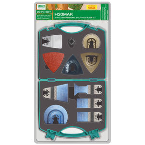 Smart H20MAK Professional Multi Tool Blade Set of 20 with Quick Release Fitment