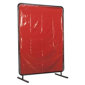 Sealey SSP99 Workshop Welding Curtain To Bs En 1598 & Frame 1.3 X 1.75mtr