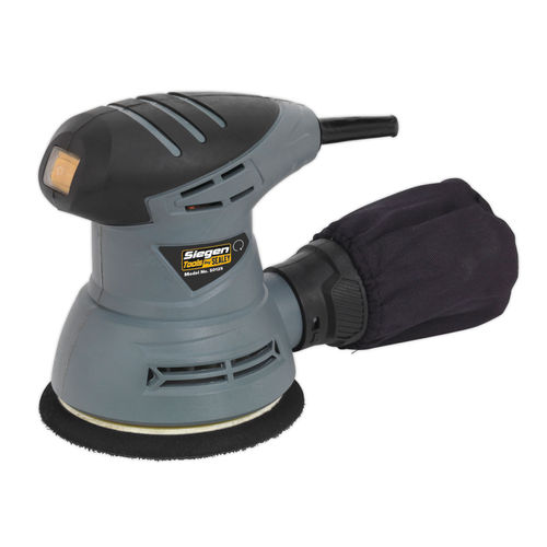 Siegen S0125 Dual Action Palm Sander ∅125mm 240w/240v