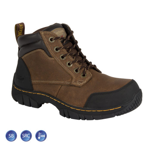 Dr Martens 6665 Riverton ST Brown Safety Boot (Heat & Slip Resistant) Size 8
