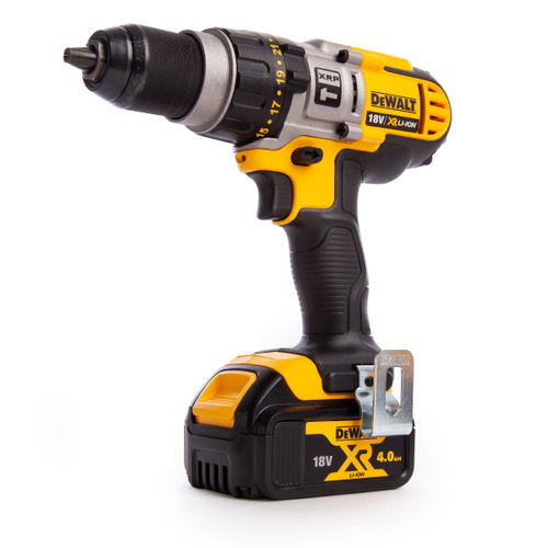Dewalt DCD985M2 18V XR li-ion Premium 3-Speed XRP Combi Drill (2 x 4.0Ah Batteries)