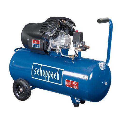 Scheppach HC100DC 100L Dual Cylinder Compressor 240V
