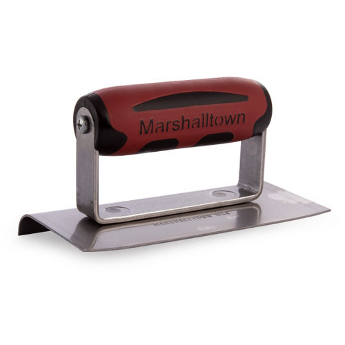 "Marshalltown M136D Cement Edger With Durasoft Handle 6 x 3"""