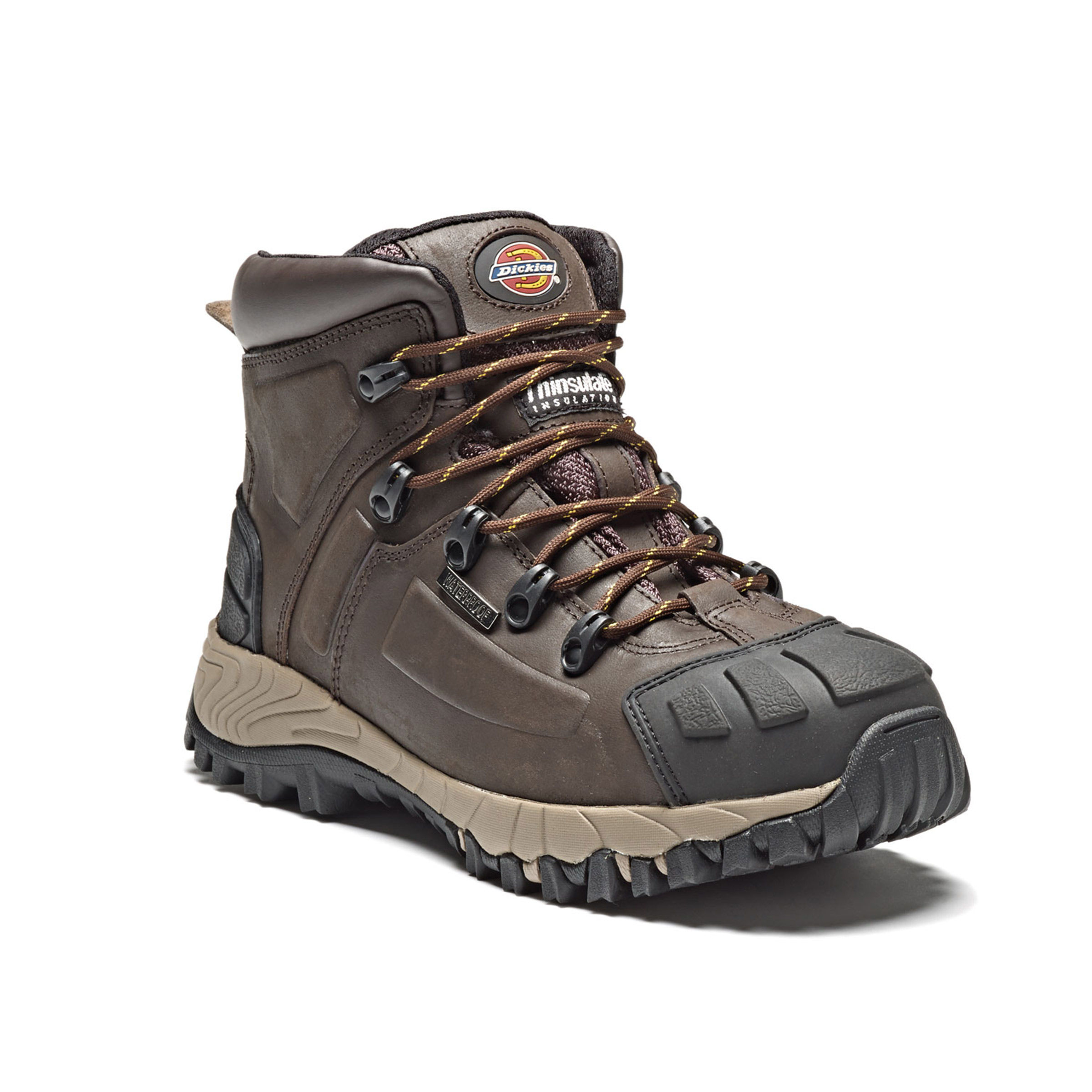 cb94afb0cfa Dickies FD23310 Medway Safety Hiker Boot (Brown) - Size 9