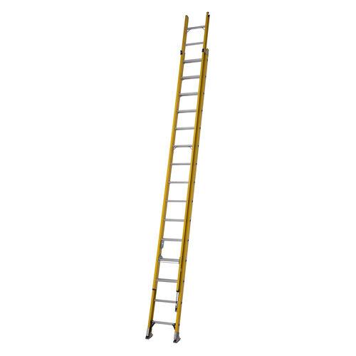 Youngman 527815 S200 Fibreglass Trade 2 Section Extension Ladder 4.48 - 7.96 Metres