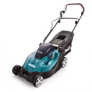 Makita DLM431 Twin 18V (36V) Lawnmower with Twin Charger (4 x 3.0Ah Batteries)