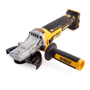 Dewalt DCG405FN 18V Cordless XR Brushless Flathead Angle Grinder 125mm (Body Only)