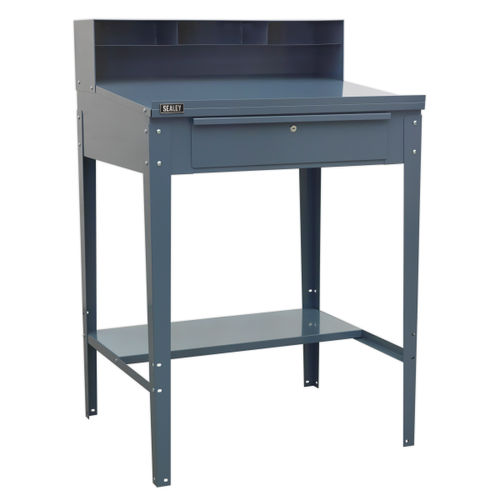 Sealey AP875 Industrial Workstation 1 Drawer (Grey)