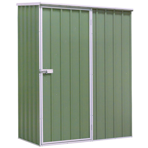 Sealey GSS1508G Galvanized Steel Shed Green 1.5 x 0.8 x 1.9 Metres