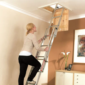 Youngman 313340 Easiway Aluminium 3 section Loft Ladder
