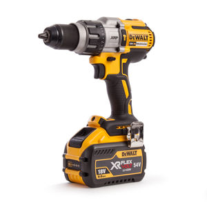 Dewalt DCD996X1 18V Cordless XR 3 Speed Brushless Combi Drill (1 x FLEXVOLT 9.0Ah Battery)
