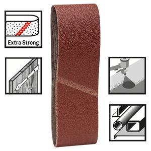 Bosch 2608606069 Sanding Belts 40 Grit 75 x 533mm (3 Pack)