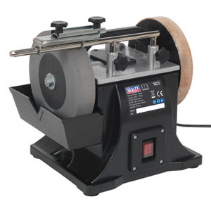 Sealey SMS2101 Sharpener ∅200mm With Honing Wheel