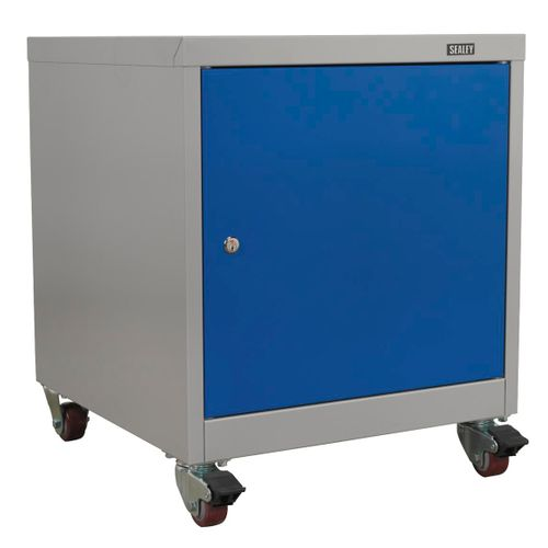 Sealey API5659 Mobile Industrial Cabinet 1 Shelf Locker