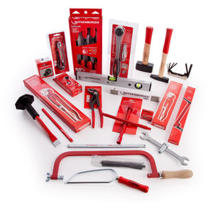 Rothenberger 1.9166 Pipefitters Toolkit in Metal Cantilever Tool Box - 25 Piece with 22 Blades