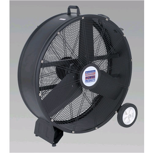 "Sealey HVD30 Industrial High Velocity Drum Fan 30"" 240v"