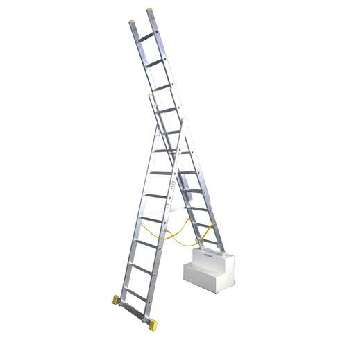 Werner 72524 2.4m Box Section Triple Extension Plus Ladder (x4)