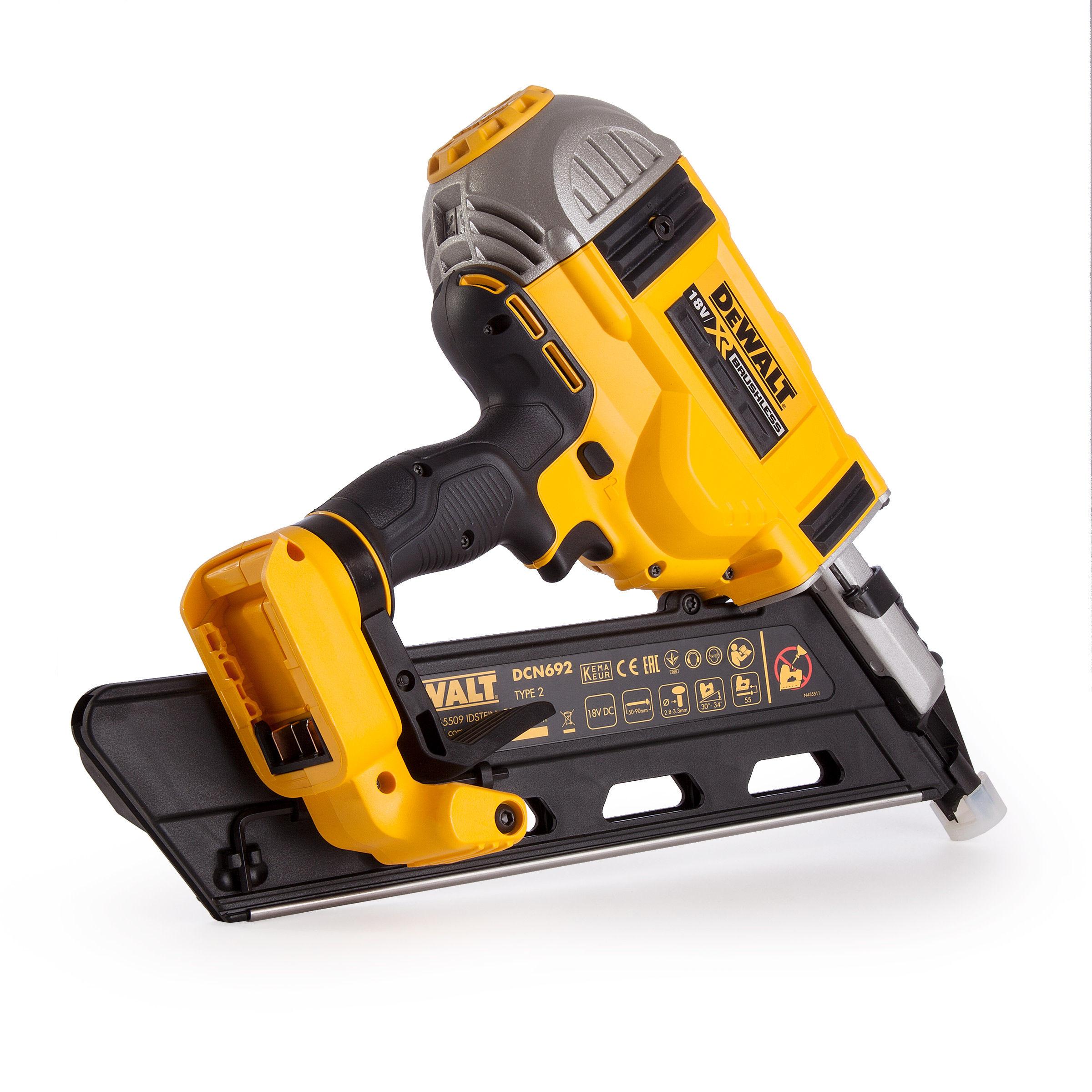 Toolstop Dewalt Dcn692n B 18v Xr Brushless Framing Nailer
