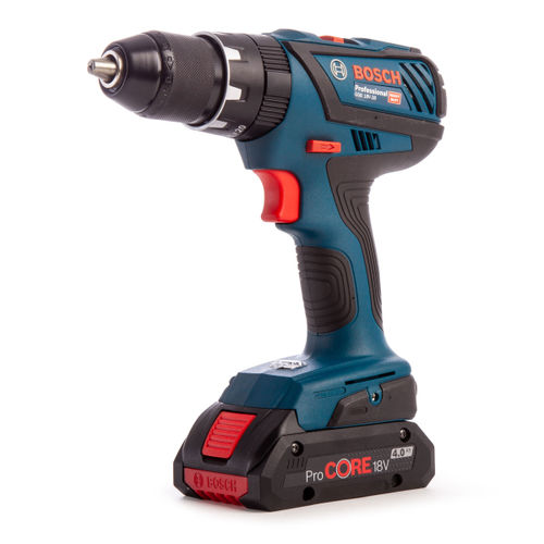 Bosch GSB 18V-28 Professional Dynamic Series Heavy Duty Combi Drill (2 x 5.0Ah Coolpack & 1 x 4.0Ah ProCORE Batteries)