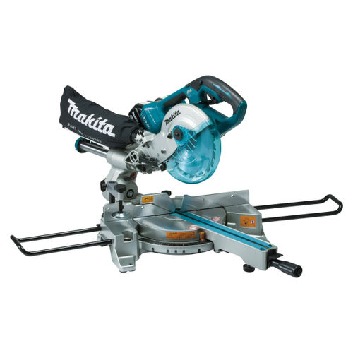 Makita DLS714 36V Brushless LXT Slide Compound Mitre Saw 190mm (Body Only) - accepts 2 x 18V Batteries