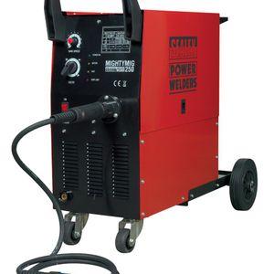 Sealey MIGHTYMIG250 Professional Gas/no-gas Mig Welder 250amp With Euro Torch