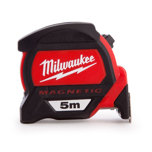 Milwaukee 4932459373 Premium Magnetic Tape Measure 5m / 16ft
