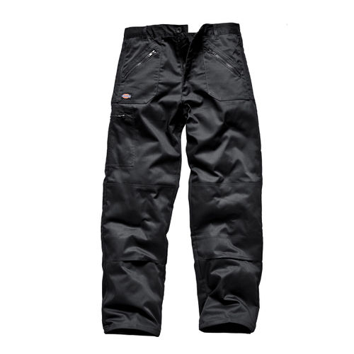 Dickies WD814 Redhawk Multi Pocket Action Trousers (Black) - 30 LONG