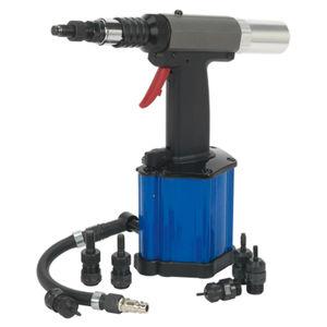 Sealey SA317 Air/Hydraulic Nut Riveter Heavy-Duty Vacuum System