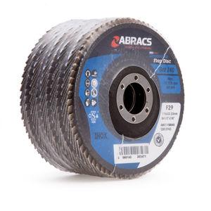 Abracs ABFZ115B040 Pro Zirconium Flap Disc 40 Grit 115 x 22mm (5 Pack)