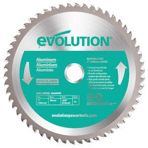 Evolution EVOBLADEAL TCT Saw Blade for Aluminium 180mm - 54 Teeth