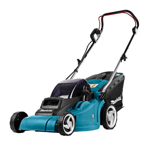 Makita DLM380 Lawnmower with Twin Charger (4 x 3.0Ah Batteries)