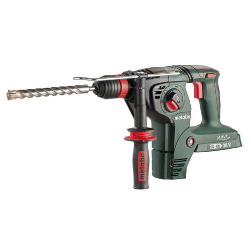 Metabo KHA 36-18 LTX 32 3 Function SDS+ Hammer Including 3 Jaw Chuck (Body Only) - accepts 2 x 18V Batteries