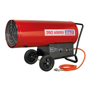 Sealey LP401 Space Warmer Propane Heater 210,000-400,000Btu/hr