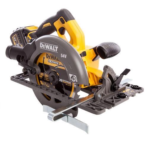 Dewalt DCS576T2 Circular Saw XR Flexvolt 54V Cordless 190mm (2 x 6.0Ah Batteries)