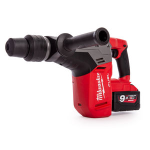 Milwaukee M18CHM-902C FUEL SDS-Max 5 kg Drilling and Breaking Hammer (2 x 9.0Ah Batteries)