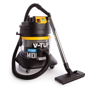 V-TUF Hydro Midi Industrial Dust Extractor / Vacuum with Accessories 240V