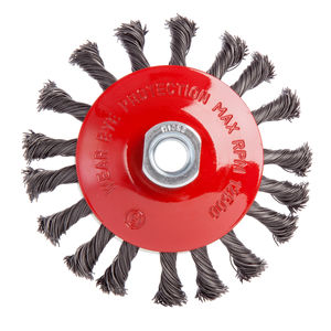 Abracs ABWBB115M14T Bevel Brush Twisted Wire (115mm x M14)