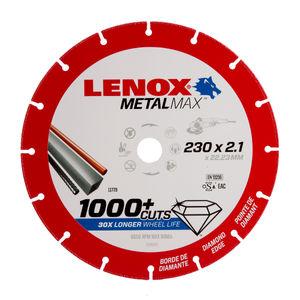 Lenox 2030870 MetalMax Diamond Cut Off Wheel 230mm x 2.1mm x 22.23mm
