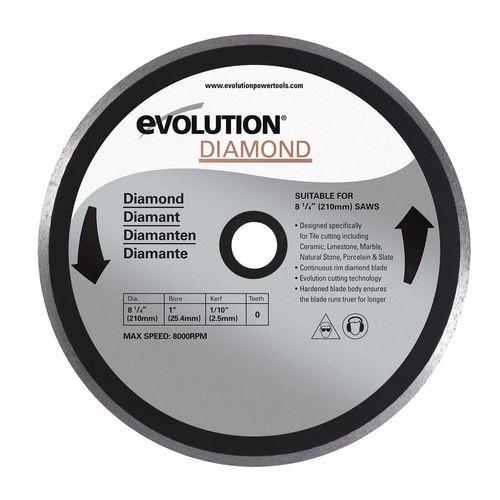 Evolution DB210 Rage 3S Diamond Cutting Blade 210mm