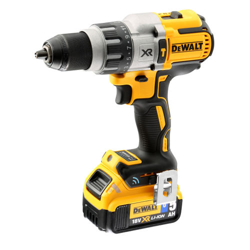 Dewalt DCD997P2B 18V XR Brushless Tool Connect Premium Combi Drill Driver (2 x 5.0Ah Batteries)