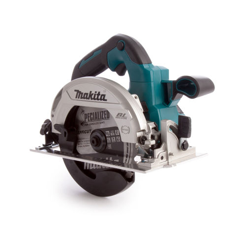 Makita DHS660RTJ 18V LXT Brushless Circular Saw 165mm (2x 5.0Ah Batteries)