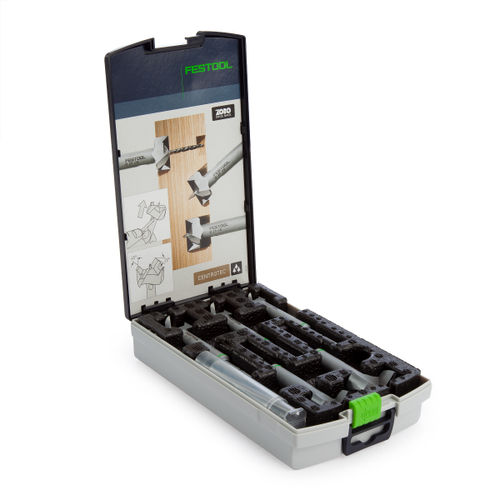 Festool 496390 CE Set D15-35 Centrotec Forstner Drill Bit Set (5 Piece)