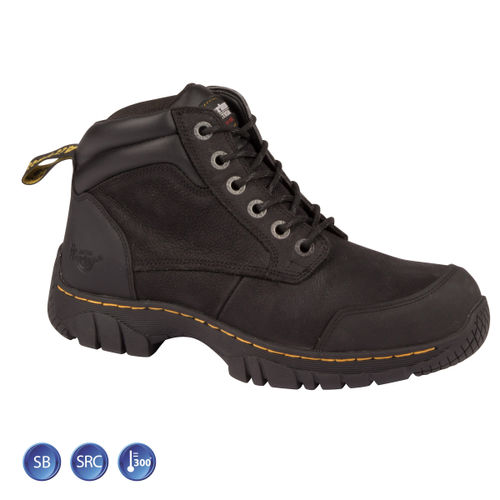 Dr Martens 6664 Riverton ST Black Safety Boot (Heat & Slip Resistant) Size 11