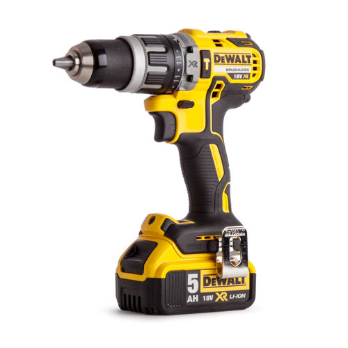 Dewalt DCD796P2 Combi Drill 18V XR Brushless Compact Lithium-Ion (2 x 5.0Ah Batteries)
