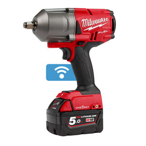 Milwaukee M18 ONEFHIWF12-503X FUEL ONE-KEY Impact Wrench 1/2 Inch Drive (3 x 5.0Ah Batteries)