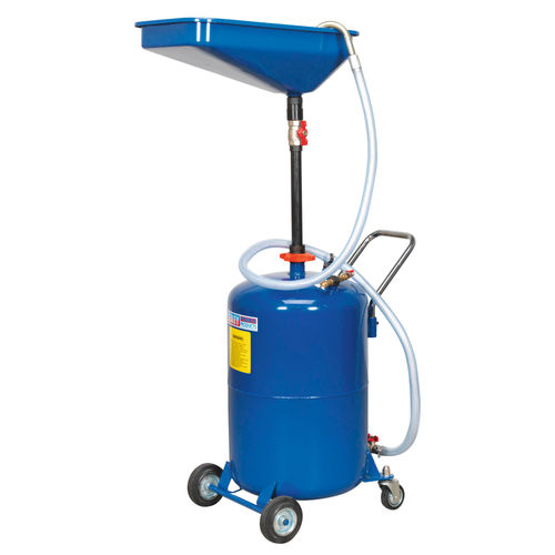Sealey AK451DX Waste Oil Drainer 65 Litre Air Discharge