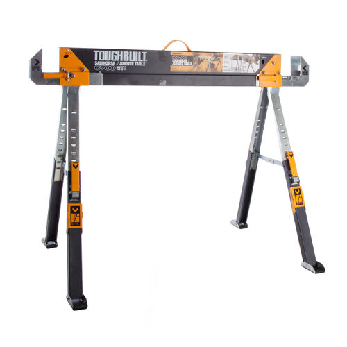 Toughbuilt C700 Saw Horse Adjustable Jobsite Table x 1