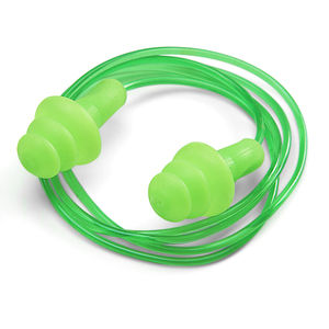 Beeswift BS002C Corded Ear Plugs Easy Fit Moulded (5 Pairs)