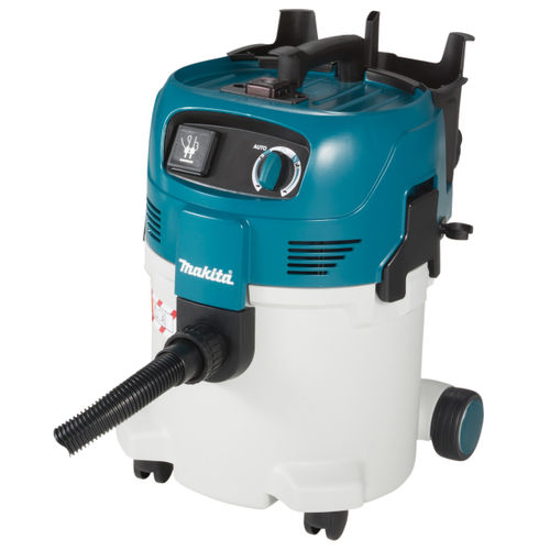 Makita VC3012M Wet and Dry M Class 30L Dust Extractor Vacuum Cleaner 110V